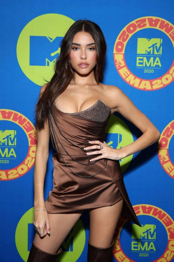 Madison Beer Possing at the 2020 MTV Europe Music Awards in LA 06