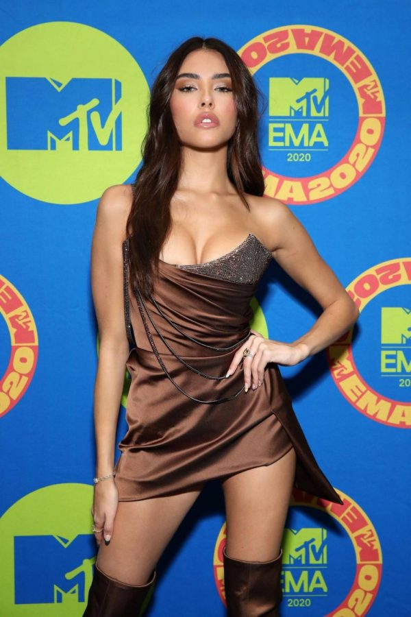 Madison Beer Possing at the 2020 MTV Europe Music Awards in LA 07