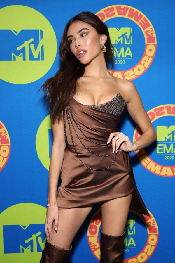 Madison Beer Possing at the 2020 MTV Europe Music Awards in LA 08