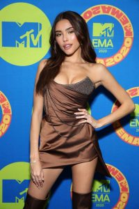 Madison Beer Possing at the 2020 MTV Europe Music Awards in LA 09
