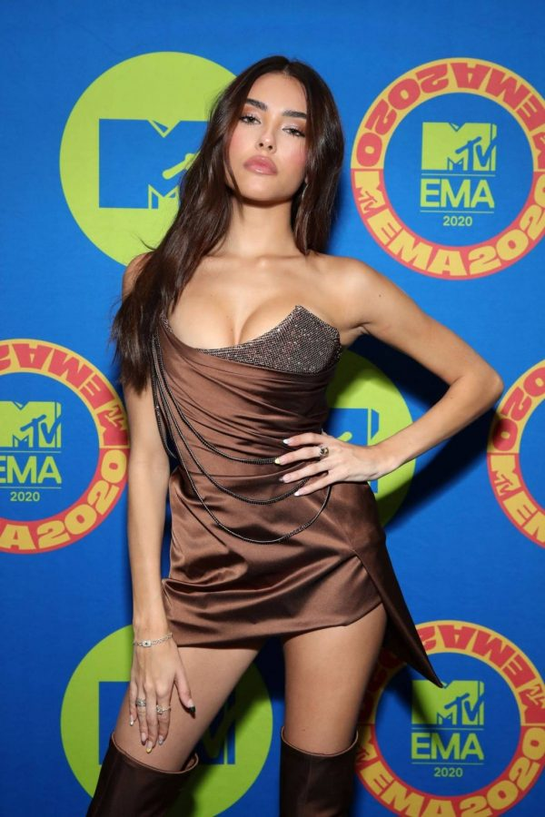 Madison Beer Possing at the 2020 MTV Europe Music Awards in LA 10
