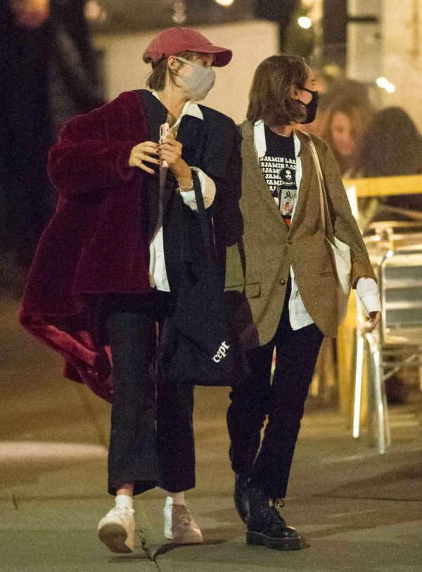 Maya Hawke Out with a friend in the West Village in New York 06