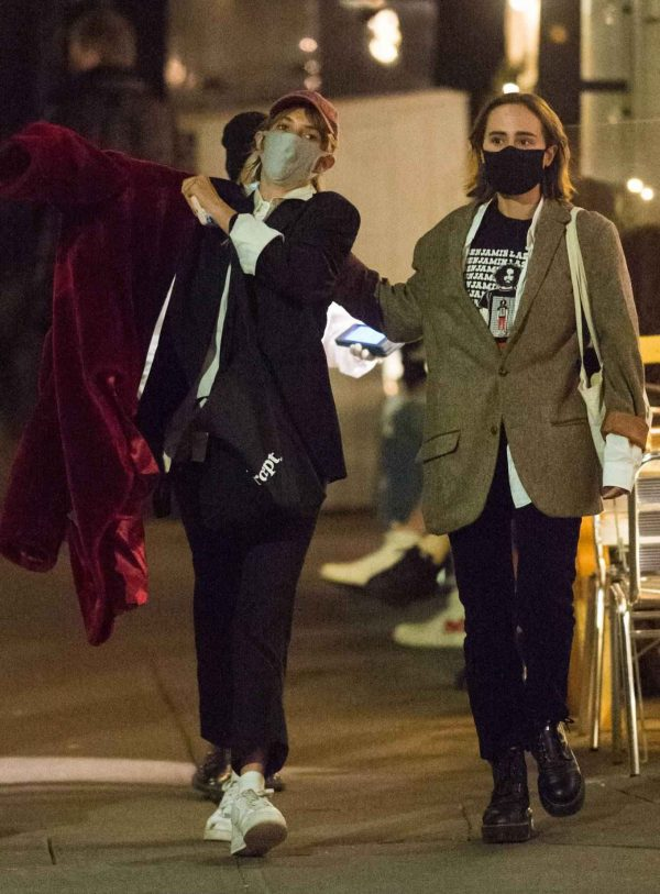 Maya Hawke Out with a friend in the West Village in New York 08