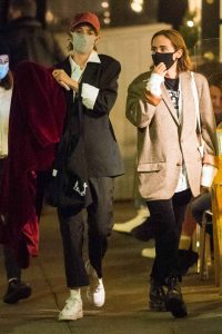 Maya Hawke Out with a friend in the West Village in New York 09