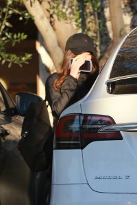 Megan Fox Hides her face as she seen leaving a gym in West Hollywood 03