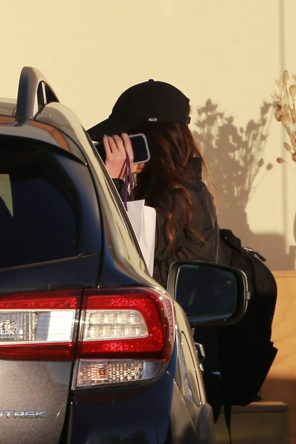 Megan Fox Hides her face as she seen leaving a gym in West Hollywood 07