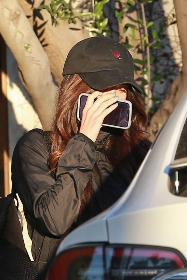 Megan Fox Hides her face as she seen leaving a gym in West Hollywood 09