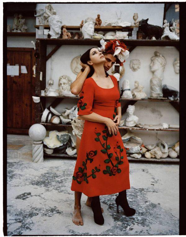 Monica Bellucci Vogue Magazine Italia November 2020 issue 06