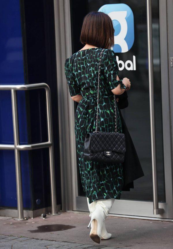 Myleene Klass Arriving at Smooth Radio in London 04