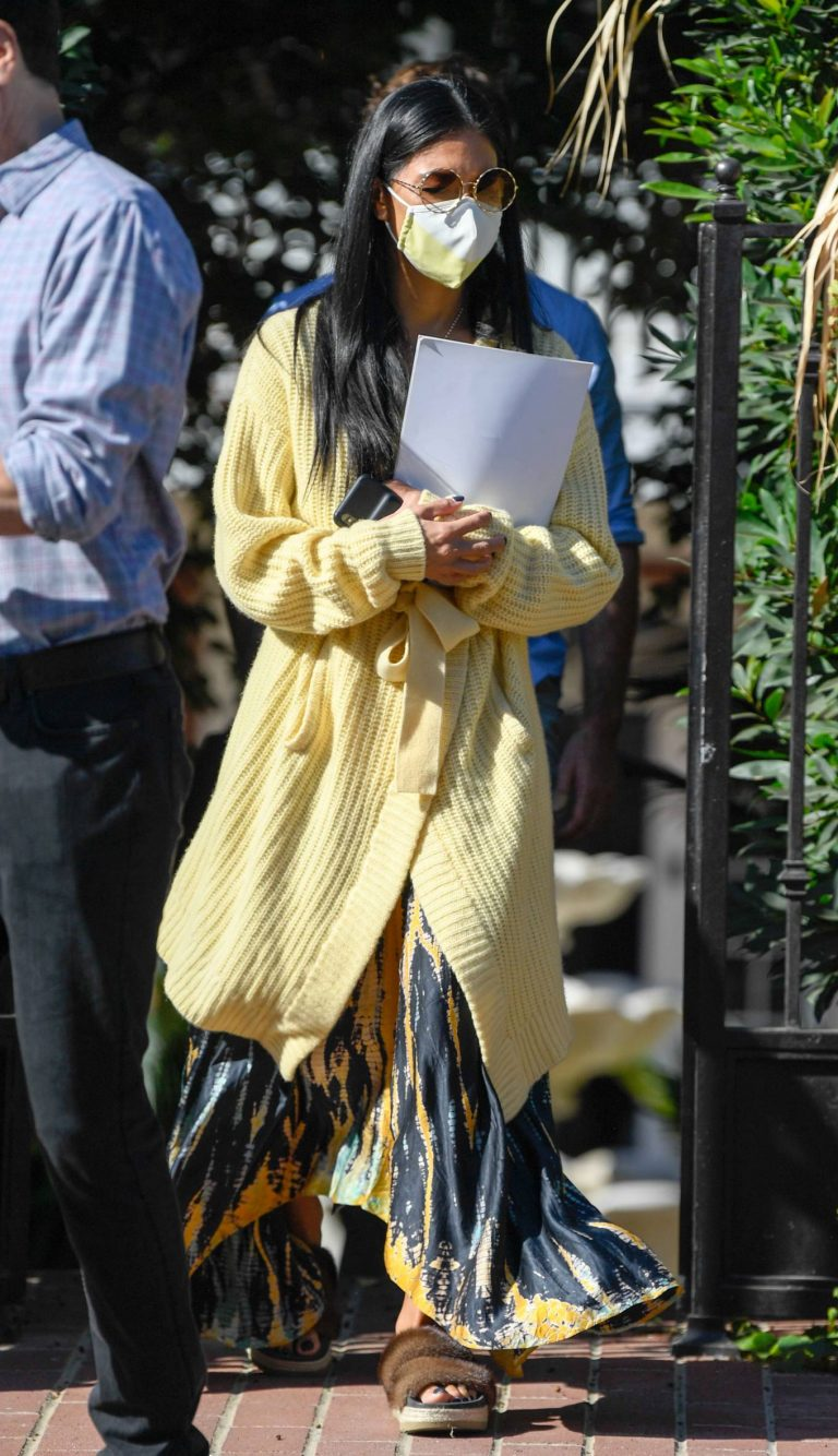 Nicole Scherzinger and Thom Evans House Hunting in Los Angeles 02