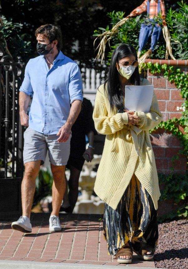 Nicole Scherzinger and Thom Evans House Hunting in Los Angeles 03
