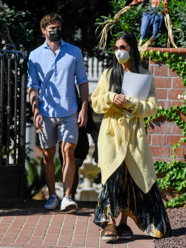 Nicole Scherzinger and Thom Evans House Hunting in Los Angeles 06