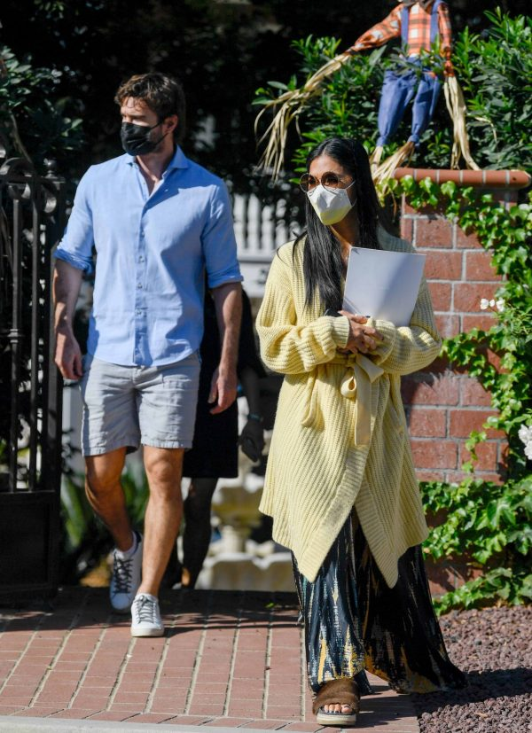 Nicole Scherzinger and Thom Evans House Hunting in Los Angeles 08