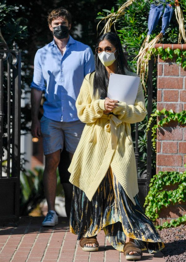 Nicole Scherzinger and Thom Evans House Hunting in Los Angeles 12