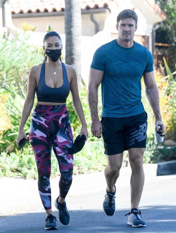 Nicole Scherzinger leaving a gym in Los Angeles 01