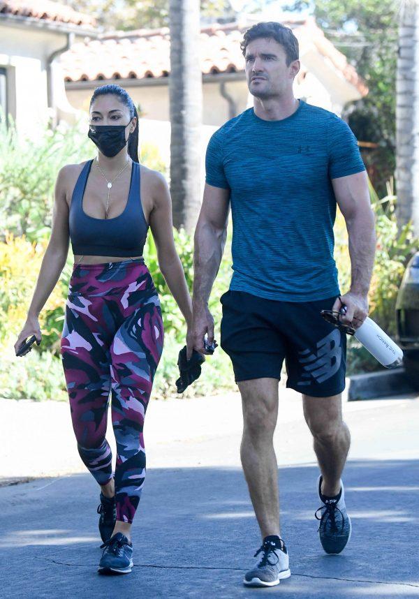 Nicole Scherzinger leaving a gym in Los Angeles 03