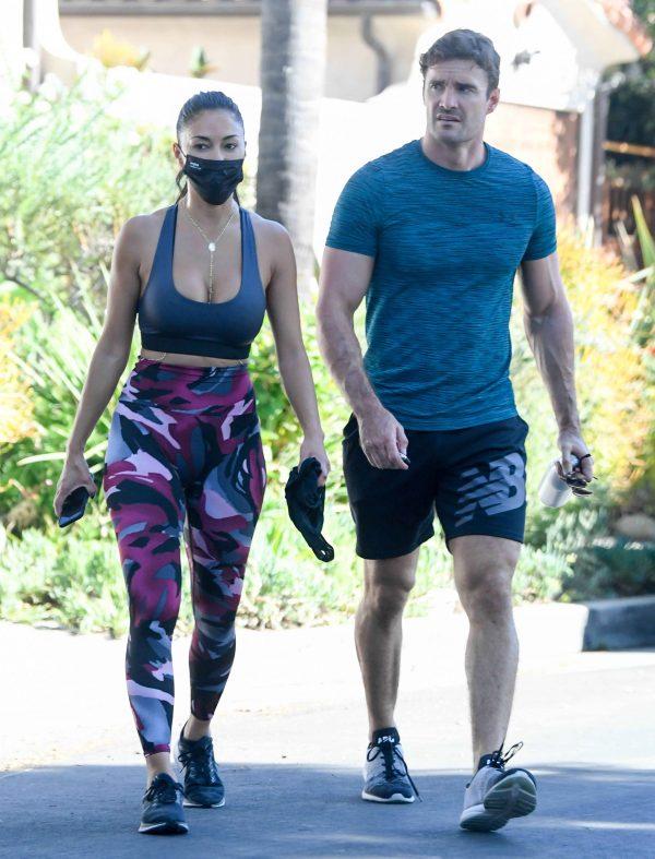 Nicole Scherzinger leaving a gym in Los Angeles 04