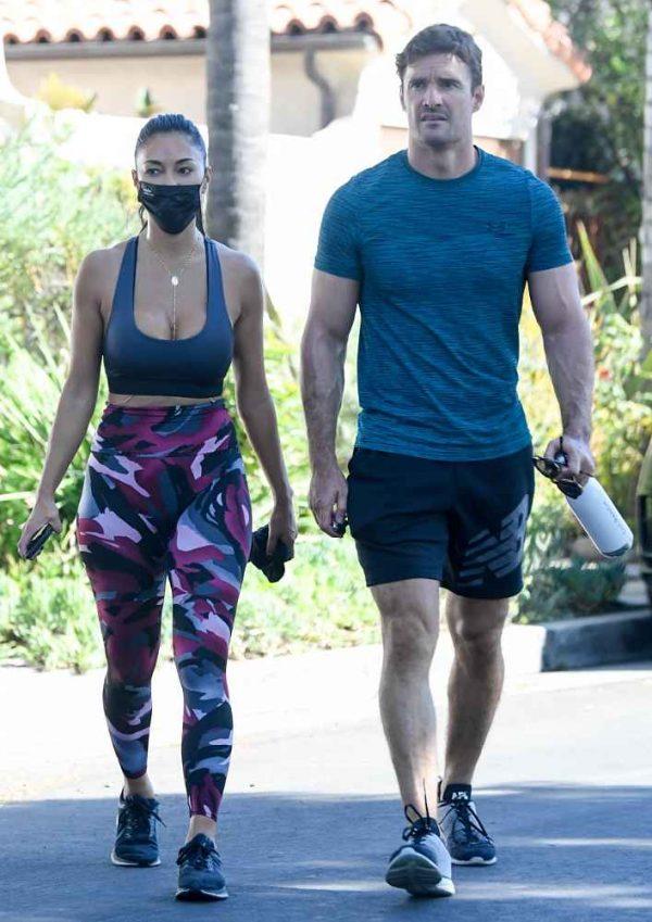 Nicole Scherzinger leaving a gym in Los Angeles 05