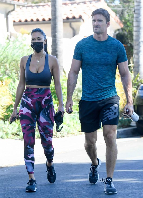 Nicole Scherzinger leaving a gym in Los Angeles 10
