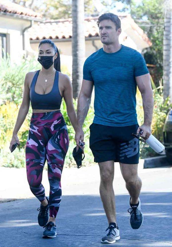 Nicole Scherzinger leaving a gym in Los Angeles 11