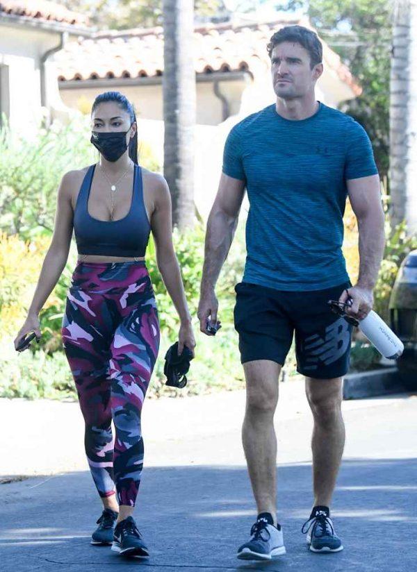 Nicole Scherzinger leaving a gym in Los Angeles 12