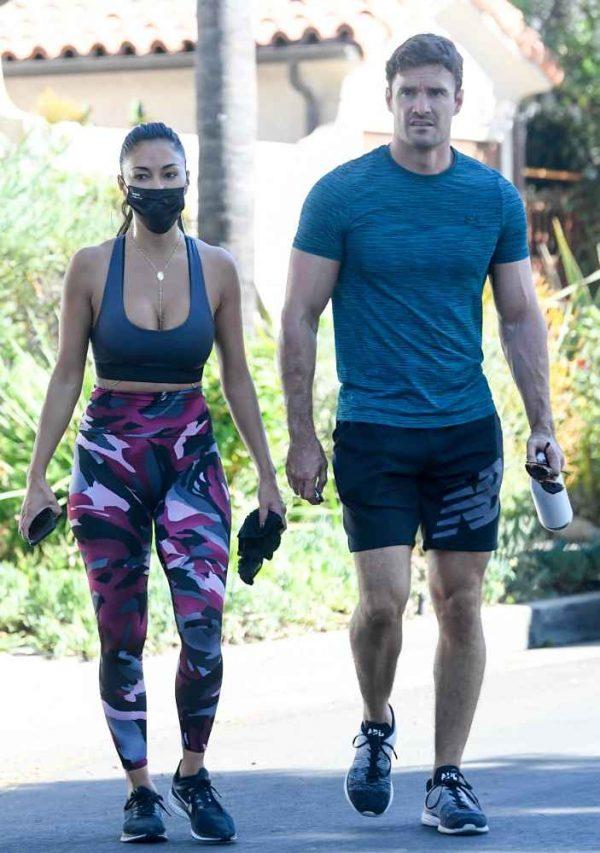 Nicole Scherzinger leaving a gym in Los Angeles 13