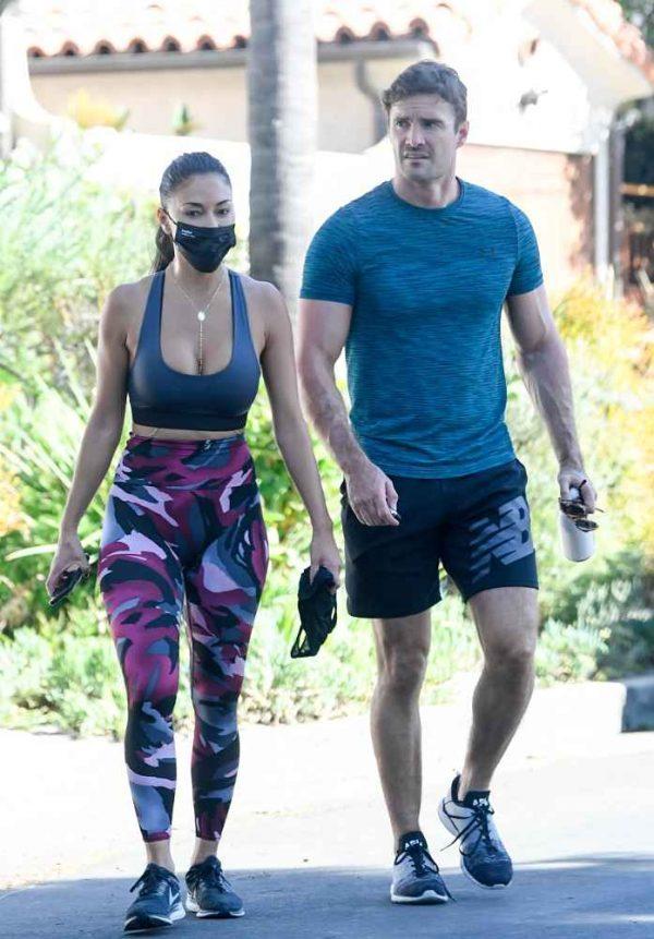 Nicole Scherzinger leaving a gym in Los Angeles 14
