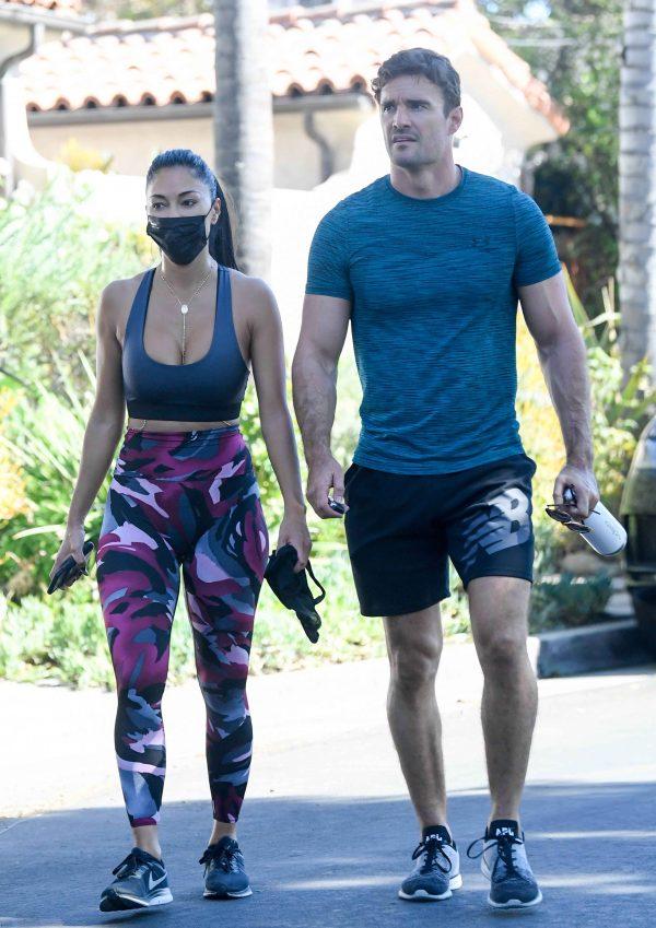 Nicole Scherzinger leaving a gym in Los Angeles 15