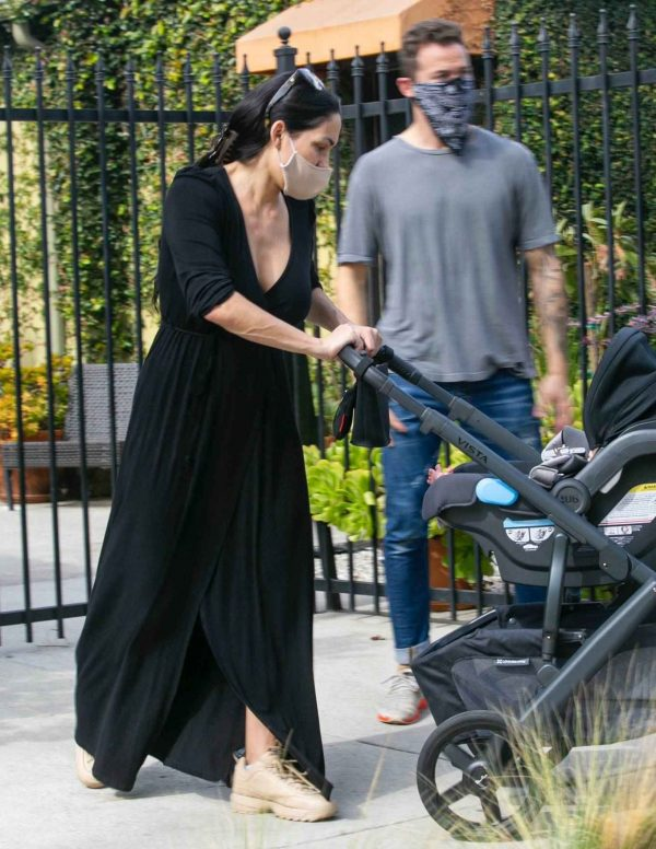 Nikki Bella Takes son Matteo out in Studio City 01