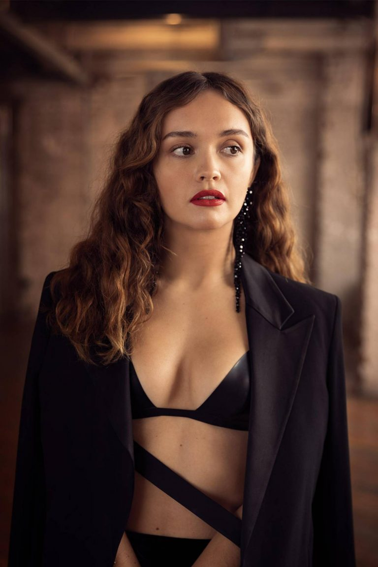 Olivia Cooke Dan Kennedy photoshoot for Square Mile 04