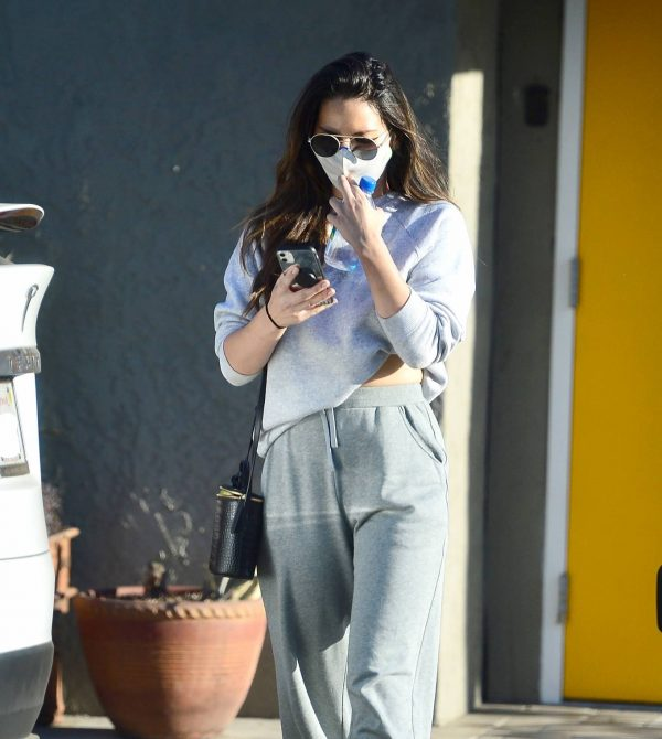 Olivia Munn Pictured while leaving a gym in Los Angeles 01