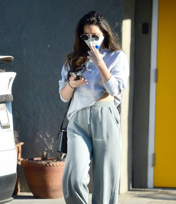 Olivia Munn Pictured while leaving a gym in Los Angeles 03