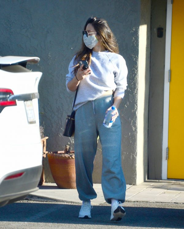 Olivia Munn Pictured while leaving a gym in Los Angeles 09