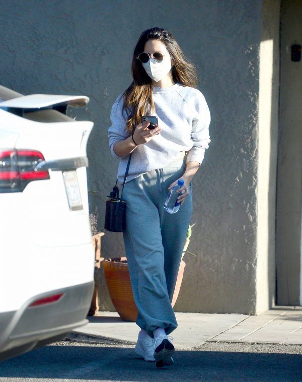 Olivia Munn Pictured while leaving a gym in Los Angeles 10