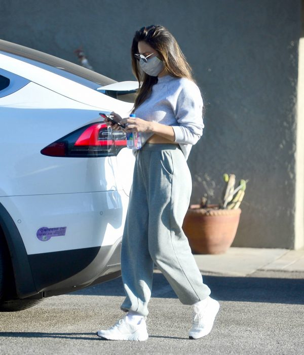 Olivia Munn Pictured while leaving a gym in Los Angeles 11
