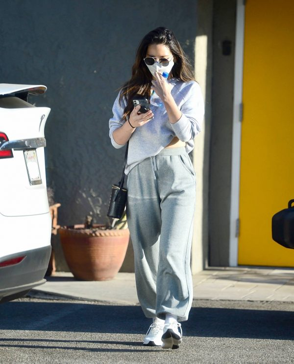 Olivia Munn Pictured while leaving a gym in Los Angeles 12