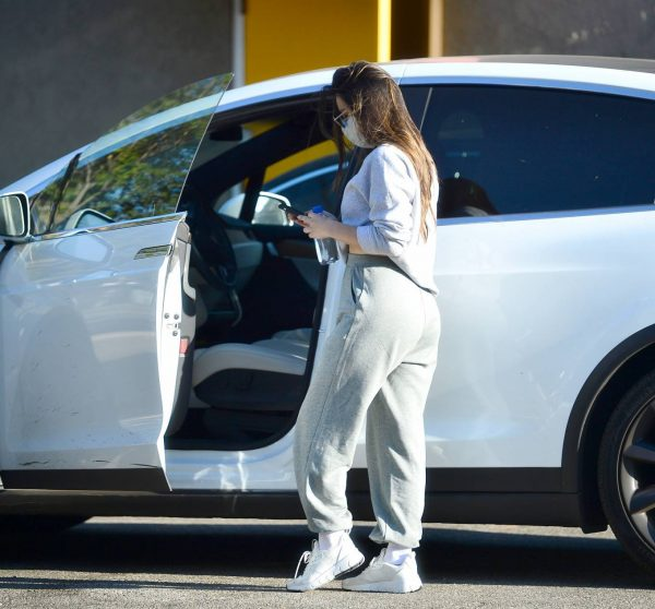 Olivia Munn Pictured while leaving a gym in Los Angeles 16
