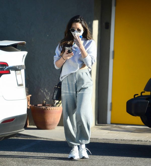 Olivia Munn Pictured while leaving a gym in Los Angeles 17