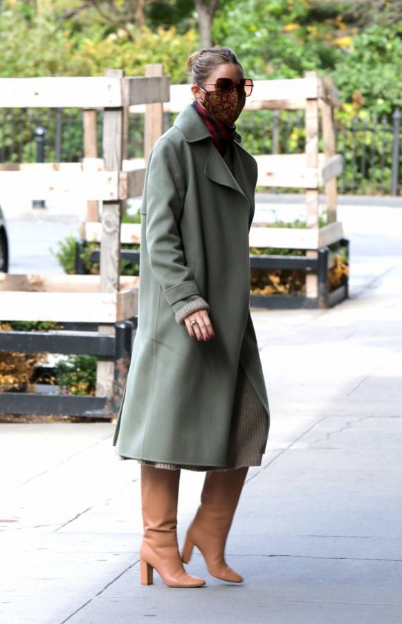 Olivia Palermo seen out and about in NYC 02