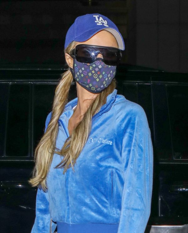 Paris Hilton Arriving at LAX airport in Los Angeles 09