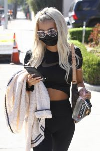 Pia Mia Perez Looks sporty after her daily workout at Dogpound gym in Los Angeles 03