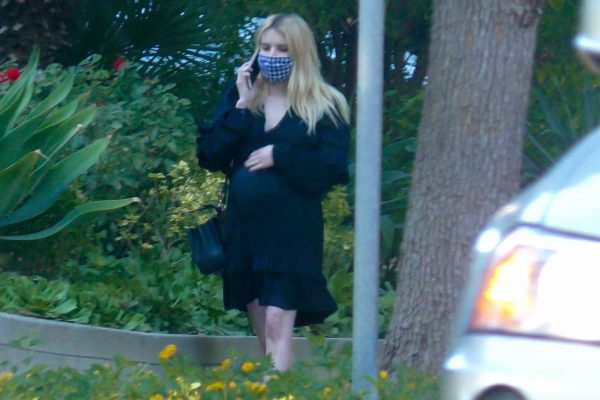 Pregnant Emma Roberts Seen while out in Los Angeles 05