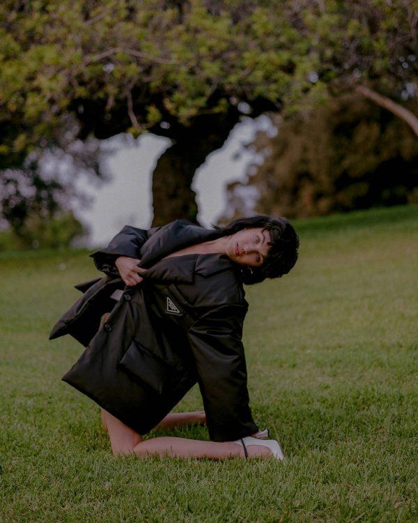 Rainey Qualley Emma Isabella Bassill shoot for Hunger November 2020 05