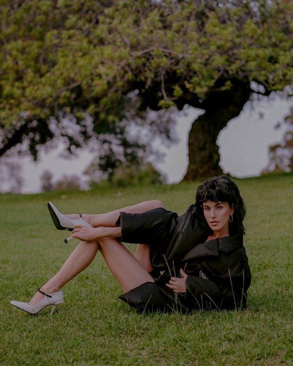 Rainey Qualley Emma Isabella Bassill shoot for Hunger November 2020 09