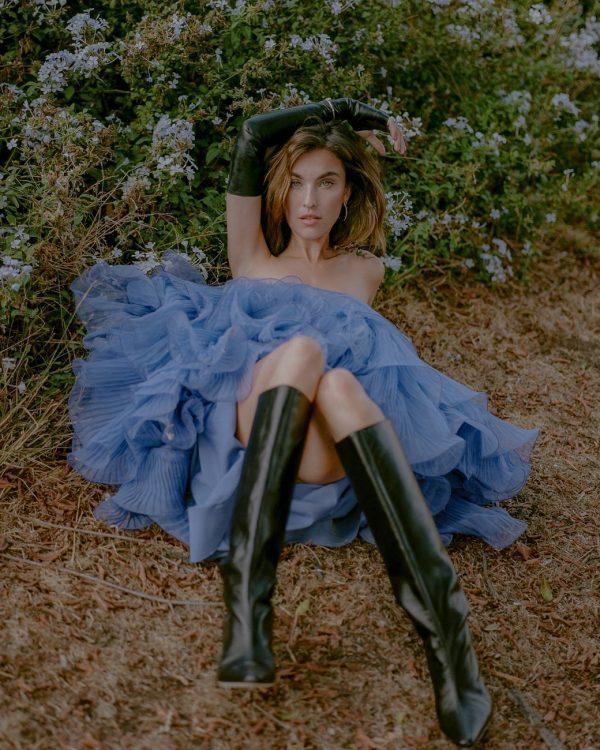 Rainey Qualley Emma Isabella Bassill shoot for Hunger November 2020 11