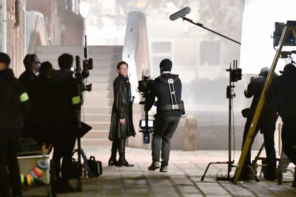 Rebecca Ferguson On the set of Mission Impossible 7 in Campo San Giacomo dell Orio Venice 02