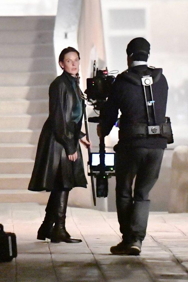Rebecca Ferguson On the set of Mission Impossible 7 in Campo San Giacomo dell Orio Venice 08