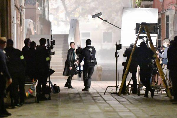 Rebecca Ferguson On the set of Mission Impossible 7 in Campo San Giacomo dell Orio Venice 10