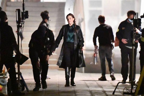 Rebecca Ferguson On the set of Mission Impossible 7 in Campo San Giacomo dell Orio Venice 11
