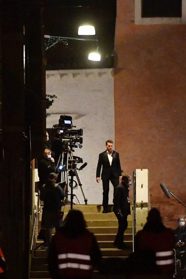 Rebecca Ferguson On the set of Mission Impossible 7 in Campo San Giacomo dell Orio Venice 12